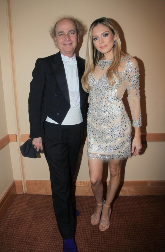 Lola Astanova con Eduardo Marturet