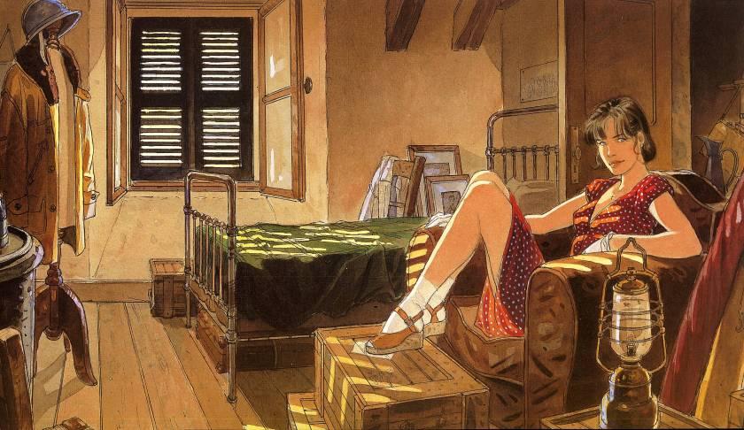 """Jean-Pierre Gibrat. """"Le sursis"""" (1997)"""
