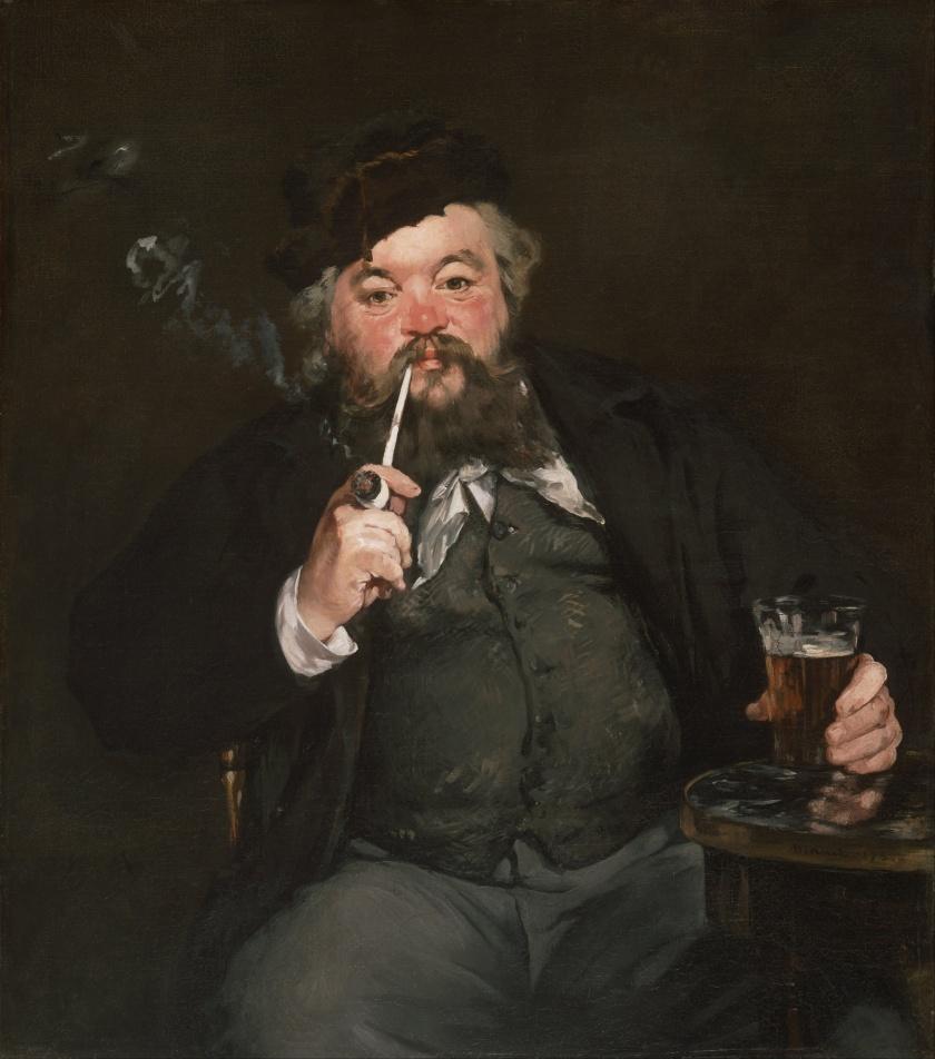 Édouard Manet. Le Bon Bock (1873). Philadelpia Museum of Art.