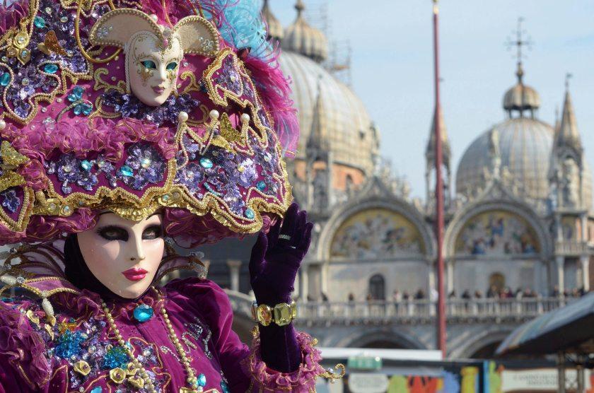 Carnaval de Venecia. Foto de Andrea Merona