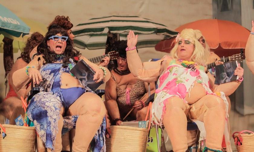 """Carnaval de Cádiz. Chirigota del Selu 2015: """"Ahora es cuando se está bien aquí"""""""