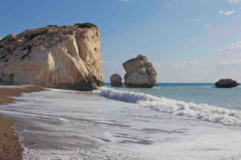 La Roca de Afrodita. Pafos. Chipre