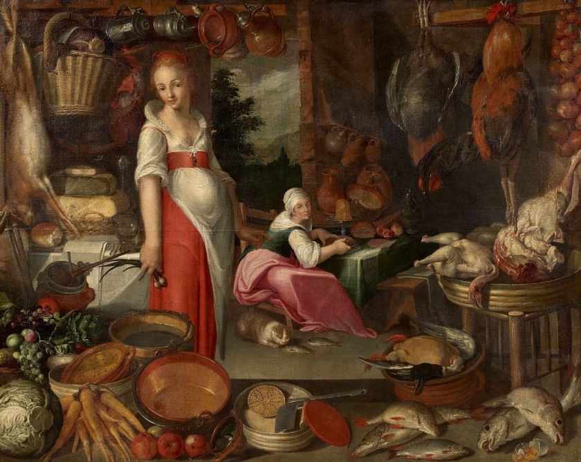 Autor desconocido. Cocina. Siglo XVI