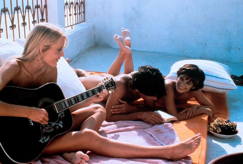 """Daryl Hannah, Peter Gallagher y Valérie Quennessen en """"Un amor de verano"""" (1982)"""