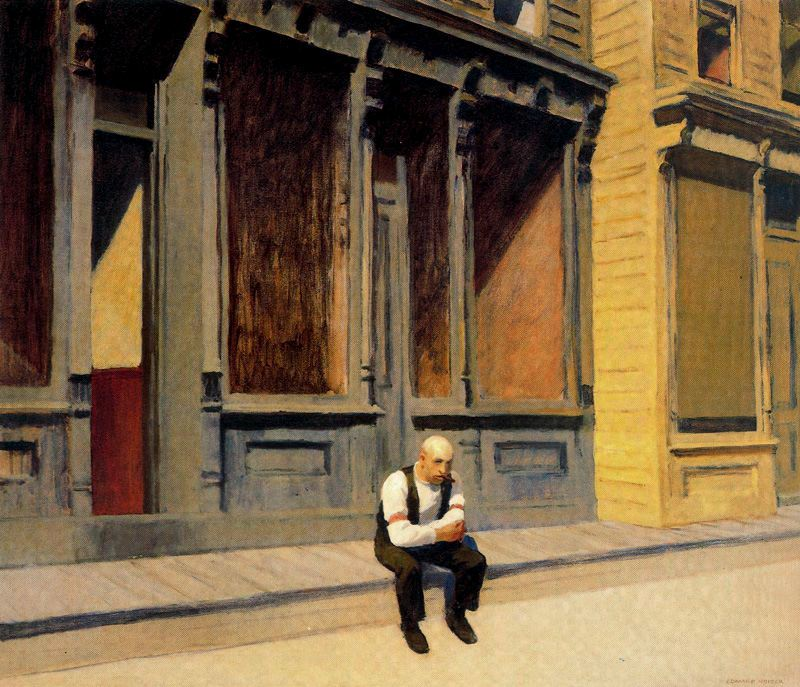 Edward Hopper (1882-1967).
