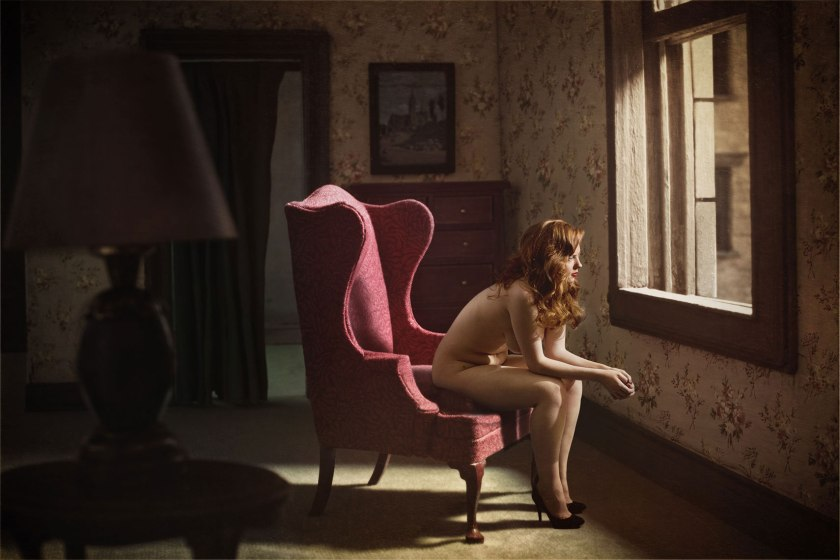 (c) Richard Tuschman. Woman at Window (2013)